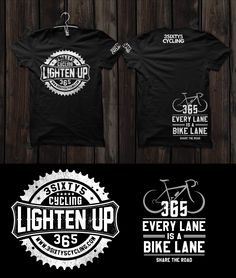 T-shirt design for 3sixty5 Cycling by ▌OЯiGiNΛL-PIXEL ▌