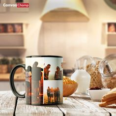 You may not be able to get close to friends and all your loved ones right now, so brighten up your morning with their photo on your coffee mug. Photo mugs are one of our most popular items. Design one today! Personalized Photo Mugs, Custom Photo Mugs, Photo Mug Printing, Special Gifts, Coffee Mugs, Photo Gifts, Popular, Friends, Tableware