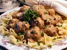 Swedish meatballs, Baby Doll makes the best!!!!!