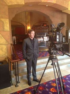 Jason Isaacs for Field of Lost Shoes event