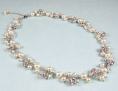 Gena - Statement Bridal Necklace