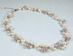 Gena - Statement Bridal Necklace