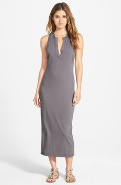 bbf4df9197f595 James Perse Open Henley Jersey Tank Dress available at  Nordstrom Modern  Outfits