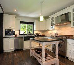 Movable Kitchen Island. #Kitchen #Island