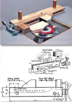 Small Parts Routing Jig - Router Tips, Jigs and Fixtures   WoodArchivist.com