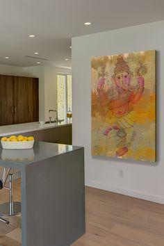 Elephant Dance Canvas Wall Art on @HauteLook