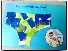 decorate her swimsuit, diy kid, summer, holidays, collage by mganeromero
