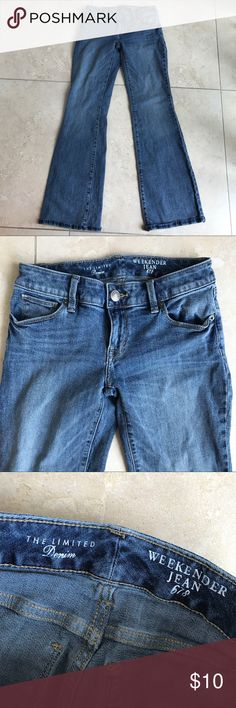The limited weeekender 678 jeans The limited weeekender 678 jeans excellent used condition -bundle and save The Limited Jeans