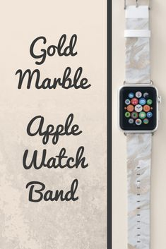 Shop Gold Marbled Look Apple Watch Band created by DizzyDebbie. Best Apple Watch, Apple Watch Series, Apple Watches For Women, Apple Watch Bands Gold, Best Mothers Day Gifts, Gold Marble, Sale Promotion, Fitness Tracker, Helping People
