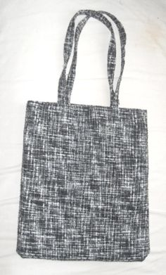 Flannel Tote Bag- unbranded.  £10 + P  http://www.etsy.com/shop/MiscTotes