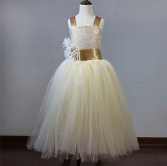 ==> [Free Shipping] Buy Best New Cheap Flower Girl Dress 2017 Actual Photos Ball Gown for Girls Lace Tulle With Sash Pageant Gown First Communion Dress Online with LOWEST Price | 32817575773