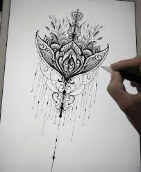 Resultado de imagen de lotus mandala underboob tattoo . Take a look at . Take a look at