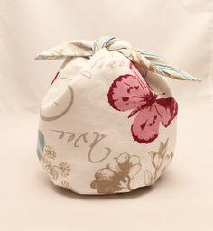 Larger ROUND KNOTTING BAG  Furoshiki knitting project by fridajo, €18.72