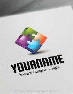 free-logo-maker-Puzzle-Logo-Templates
