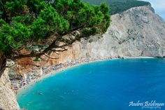 The amazing Porto Katsiki by Andrei C. Greek Blue, Beach Scenery, Europe Destinations, Travel Information, Beach Fun, Greek Islands, New Pictures, The Good Place, Greece