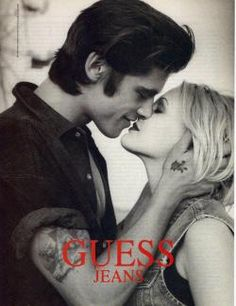 Remember these Guess ads? Love Drew!