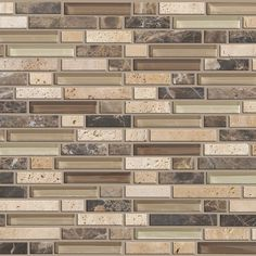 Found it at Wayfair - Mixed Up Random Sized Natural Stone Mosaic Tile in River Bed