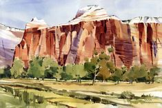 Shari Blaukopf:  I was invited to paint Utah's National Parks this past August.