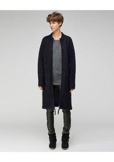 toile Isabel Marant / Gail Long Knit Coat  |   La Gar�onne | La Garconne