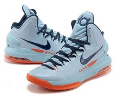 on sale 7d3aa 2f711 The Nike KD 5 - Ice Blue   Squadron Blue - Total Orange will release on  February