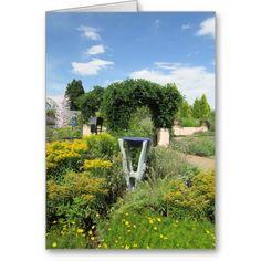 #Bird Bath Card http://www.zazzle.com/rinchen365flower*