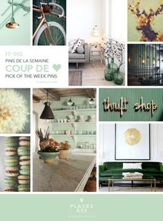 Pins de la semaine | Pins of the week N.002 – Places  Co - #Moodboard