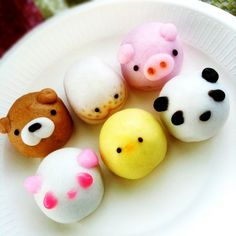 manjyuu cakes with manju inside., Japanese