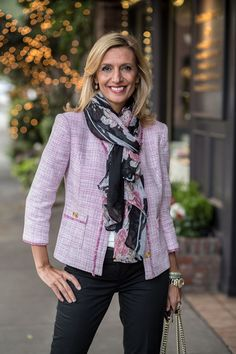 Don't miss out on big savings on our Rose Fringe jacket and Black Pink floral scarf which are a perfect pair and featured on my blog today - BOTH PART OF OUR HOLIDAY SALE . Get 20% off on orders over $100 using code HOL20 and 15% off on orders under $100 with code HOL15 Plus Free US Shipping www.jacketsociety.com
