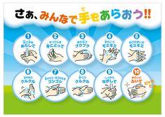 正しい手の洗い方 イラスト - Google 検索