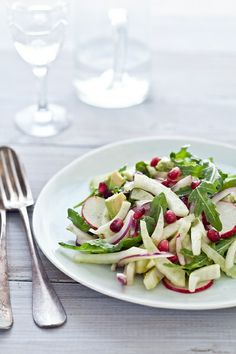 Fennel and Arugula Salad