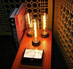 Steampunk Lamp One Of A Kind By Mechanique by MizzMechanique, $445.00