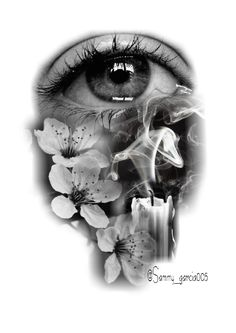 Ideas For Eye Tattoo Realistic Black Body Art Tattoos, Tattoo Drawings, Hand Tattoos, Girl Tattoos, Tattoos For Guys, Tattoos For Women, Ojo Tattoo, Art Visage, Black And White Sketches