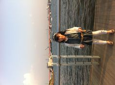My lovely daughter at Han river, Korea