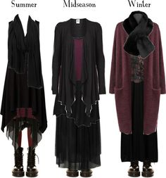 grim-maiden:  Black and burgundy all year round par pandora-hydrangea-velours utilisant robe noire Topshop robe noire / Agent Ninetynine robe noire, $9.24 / Boohoo robes en rayonne / Black top / Vero Moda cardigan noir, $25 / Miss Selfridge floral shirt / Agent Ninetynine brassière, $9.24 / Acne Studios cardigan violet / Red Or Dead jupe noire, $17 / Jupe noire, $20 / Chaussettes genou / Aaiko black scarve / Jacques Vert black scarve, $48