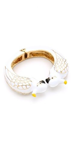 Juicy Couture  Cockatoo Bangle---UGH WHO CARES ABOUT COCKATOOS!?