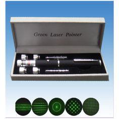 $18.86  Puntero laser de color verde con 5 patrones distintos