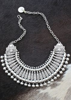 Got this ethnic turkish necklace from think reese!