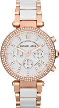 Ladies Michael Kors Parker Ceramic Chronograph Watch MK5774
