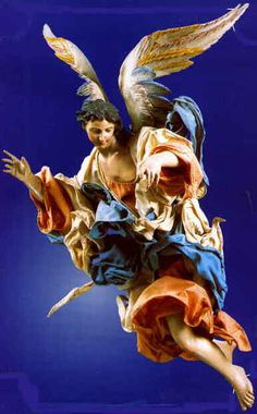 Angelo nel presepe napoletano del 1700