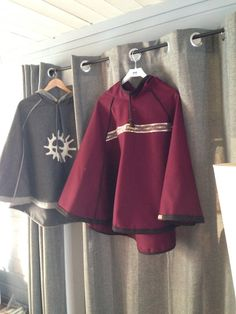 Ulike Luhkka er som ferdig Rain Jacket, Windbreaker, Diy Crafts, Clothing, Jackets, Fashion, Culture, Gowns, Outfits