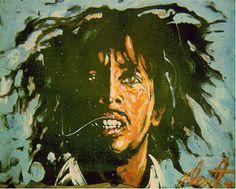 Bob marley By Denny Dent
