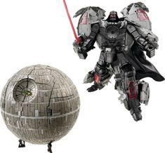 darth vader death star transformers