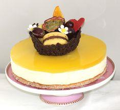 Ostekake med pasjonsfrukt - Bakeprosjektet