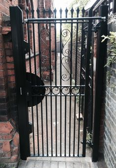 Our Designed RSG3000 Security Door Gates fitted externally ...