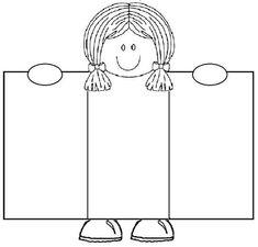 5 Steps To Raising Optimistic Children All About Me Crafts, All About Me Preschool, All About Me Activities, English Activities, Kindergarten Activities, Preschool Activities, First Day School, School Clipart, School Decorations