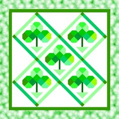 *Free Quilt Patterns and Tutorials*: Free St. Patrick's Day or Irish Quilt Patterns
