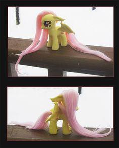 My Little Pony FlutterBat Custom by JackalGallery on Etsy