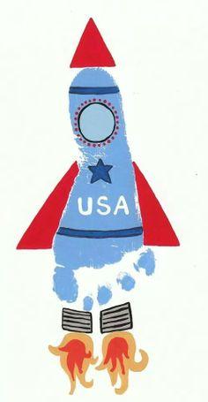 July 4th rocket
