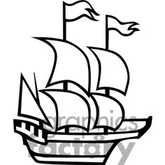 Clip Art Mayflower Clipart pin by mayflower supply on pinterest pirate party the ship royalty free image rf vector clip art number formats available are gif jpg png eps