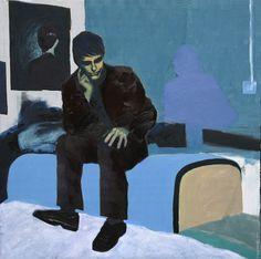 "Saatchi Online Artist Pawel Kwiatkowski; Painting, ""protagonist"" #art"